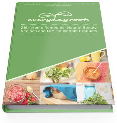 Everyday Roots Book by Claire Goodall is a 350 pages that will help you to get rid and replace the toxic products and every toxic medications in your home