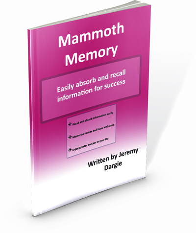 Mammoth Memory, Power Thinking and Lazy Learning gives you information on thinking patterns and the brains workings, retention tools and exercises, and more