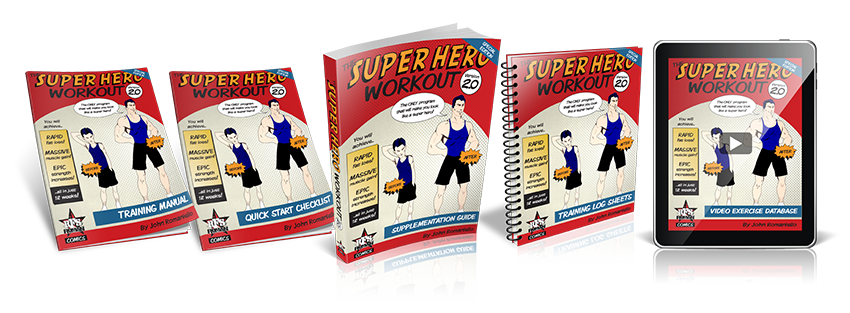 Download Super Hero Workout eBook Now