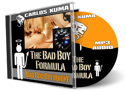 Bad Boy Formula that will make you such a hit with the ladies and also how they trigger a woman's instinctive attraction psychology making her chase after you
