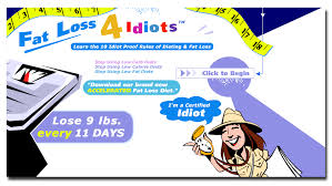 Download Here Now The Fat Loss 4 Idiots Program