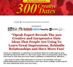 Click Here To Download The 300 Creative Dates Ideas eBook