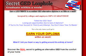 Click Here To Download Secret GED Loophole Program